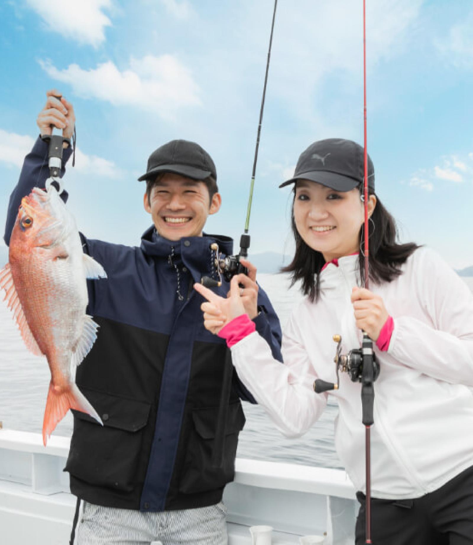 漁師と行く!タイラバ釣りツアー
