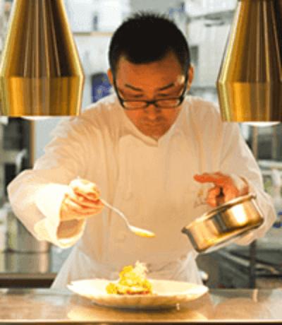 レストラン「フォレスト」中川 徳之 2011.12月 国内線JALファーストクラス機内食プロデュース